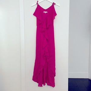 Pink Fushia Summer Dress, Size S, French brand